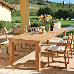 Byron Table | Tables à manger de jardin | Unopiù