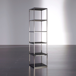 Hardy Bookcase 45 | Shelves | Meridiani