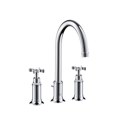 AXOR Montreux 3-Hole Basin Mixer DN15 | Wash basin taps | AXOR