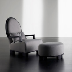 Gabo Bergère with Ottoman | Lounge chairs | Meridiani