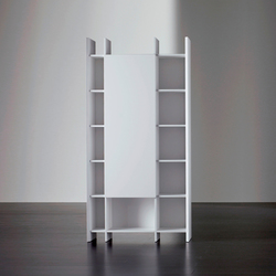 Harris Bookcase | Office shelving systems | Meridiani