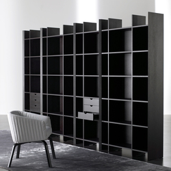 Harris Bookcase | Shelving systems | Meridiani