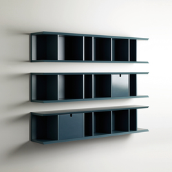 Harris Bookcase | Wall shelves | Meridiani