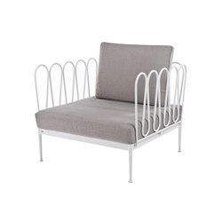 Fleurs Armchair | Garden armchairs | Unopiù
