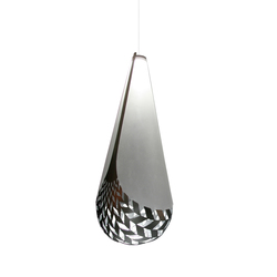 Basket Of Knowledge Aluminium | Suspended lights | David Trubridge Studio