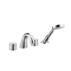 AXOR Starck 4-Hole Rim-Mounted Bath Mixer DN15 | Bath taps | AXOR