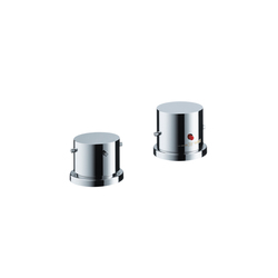 AXOR Starck 2-Hole Thermostatic Rim-Mounted Bath Mixer DN15 | Bath taps | AXOR