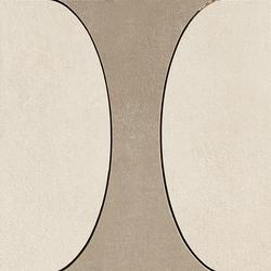 Industrial Decoro A - Taupe|Ivory | Ceramic mosaics | FLORIM