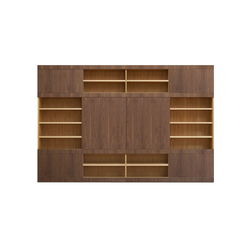 Maschera wall unit | Shelves | Morelato