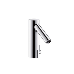 AXOR Starck Electronic Basin Mixer with temperature control DN15 battery-operated | Wash-basin taps | AXOR