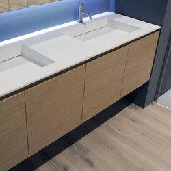 Lunaria | Waschplätze | antoniolupi