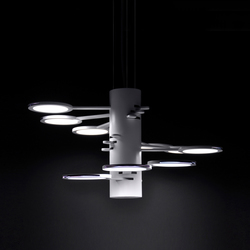 3x3 MACH 9  S – OLED-pendant | General lighting | Bernd Unrecht lights