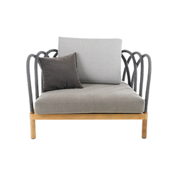 Les Arcs Armchair | Garden armchairs | Unopiù