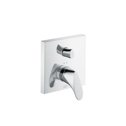 AXOR Starck Organic Single Lever Bath Mixer for concealed installation with integrated safety combination |  | AXOR