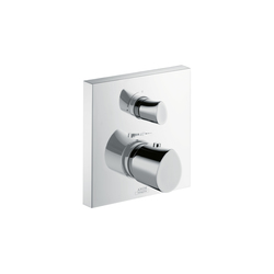 AXOR Starck Organic Thermostatic Mixer for concealed installation with shut-off valve | Shower controls | AXOR