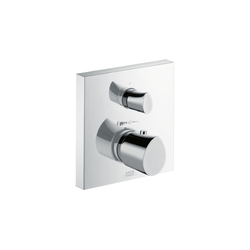 AXOR Starck Organic Thermostatic Mixer for concealed installation with shut-off|diverter valve | Shower controls | AXOR