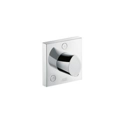 AXOR Starck Organic Trio llave de paso e inversor|Quattro inversor empotrado | Grifería para duchas | AXOR
