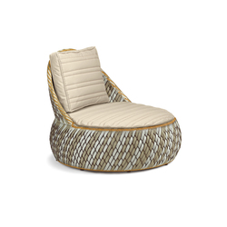 Dala Lounge chair | Garden armchairs | DEDON
