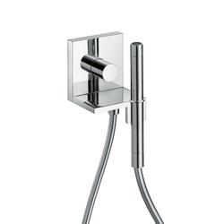 AXOR Starck X Hand Shower Module Finish Set 12 x 12 DN15 | Shower taps / mixers | AXOR