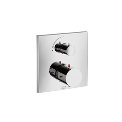 AXOR Starck X Thermostatic Mixer for concealed installation with shut-off valve | Shower controls | AXOR