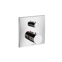 AXOR Starck X Thermostatic Mixer for concealed installation with shut-off|diverter valve | Shower taps / mixers | AXOR