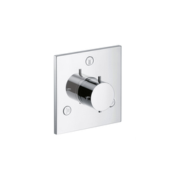 AXOR Starck X Trio|Quattro Shut-off and Diverter Valve for concealed installation DN20 | Shower controls | AXOR