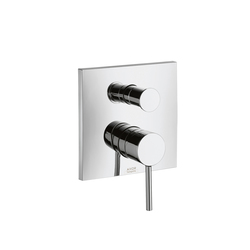 AXOR Starck X Single Lever Bath Mixer for concealed installation with integrated security combination according to EN1717 | Bath taps | AXOR