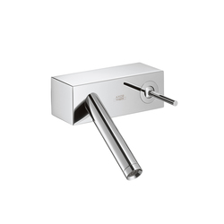 AXOR Starck X Single Lever Basin Mixer wall-mounted version DN15 | Wash-basin taps | AXOR