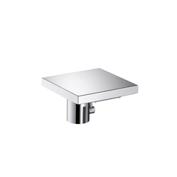 AXOR Starck X Electronic Basin Mixer with temperature control DN15 battery-operated | Wash basin taps | AXOR