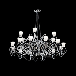 Blanche Hanging Lamp | Ceiling suspended chandeliers | ITALAMP
