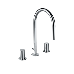 Kartell by LAUFEN | Washbasin mixer 3-hole | Wash-basin taps | Laufen