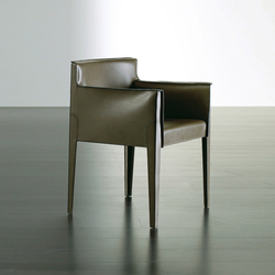 Tattoo Due Chair | Visitors chairs / Side chairs | Meridiani