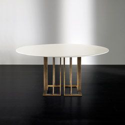Charlie Table | Mesas comedor | Meridiani