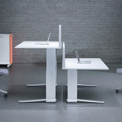 iMOVE-C Work station | Contract tables | LEUWICO