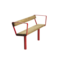 April bench | Bancos de exterior | Vestre