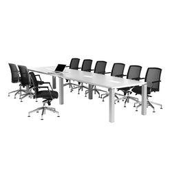 iONE Conference desk | Multimedia conference tables | LEUWICO