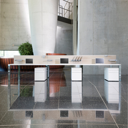 iONE Bench Work station | Table dividers | LEUWICO