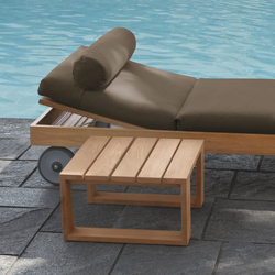 Square Lounge bed | Sun loungers | Meridiani