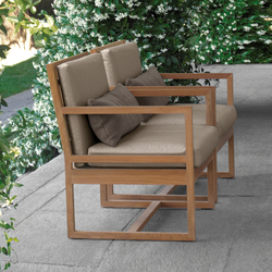 Square Chair | Garden chairs | Meridiani