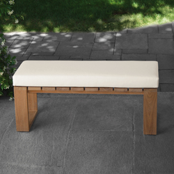 Square Bench | Garden benches | Meridiani