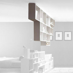 30mm_weightless_shelf | Room dividers | LAGO