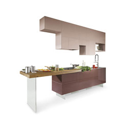 36e8_weightless_kitchen | Cucine a parete | LAGO