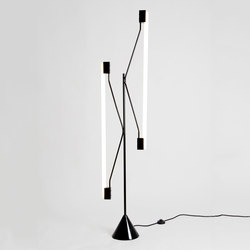 2 Tubes Floor lamp | General lighting | Atelier Areti