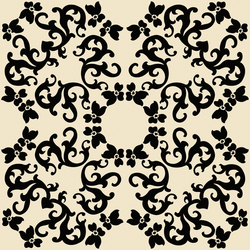 Iris 2 Nero | Wall tiles | Ceramica Bardelli