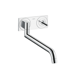 AXOR Uno Single Lever Kitchen Mixer for concealed installation | Kitchen taps | AXOR