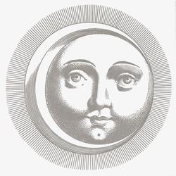 Soli e Lune Platino 5B | Wandfliesen | Ceramica Bardelli