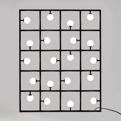 Squares Floor / Wall lamp | Free-standing lights | Atelier Areti