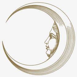 Soli e Lune Oro 6B | Wandfliesen | Ceramica Bardelli
