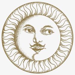 Soli e Lune Oro 3B | Wandfliesen | Ceramica Bardelli