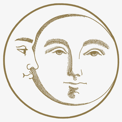 Soli e Lune Oro 4B | Wandfliesen | Ceramica Bardelli